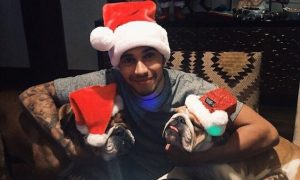 F1 drivers celebrate the holidays