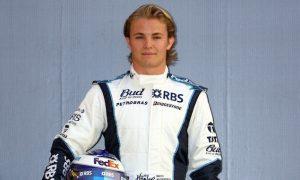 Rosberg's F1 debut