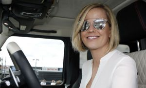 Susie Wolff awarded MBE for services to women in sport