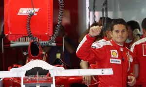 The last Italian to race for Ferrari
