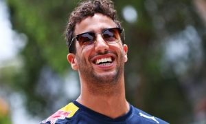 Ricciardo ready to hammer it out in the gym