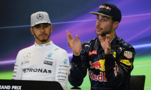 I would beat Hamilton in same car - Ricciardo