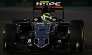 Force India gets a shot of Johnnie Walker