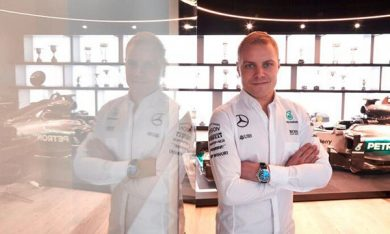 Bottas concludes deal with Mercedes