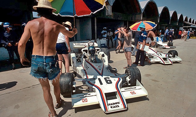 When F1 went winter racing in the sunshine
