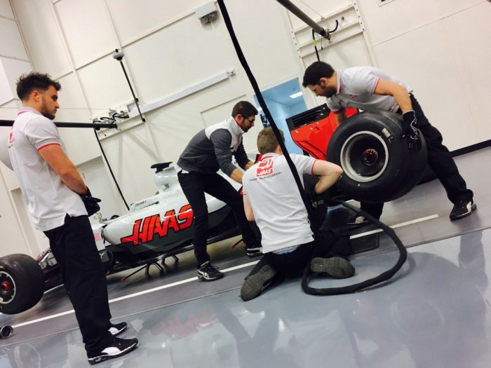 Haas: getting there...