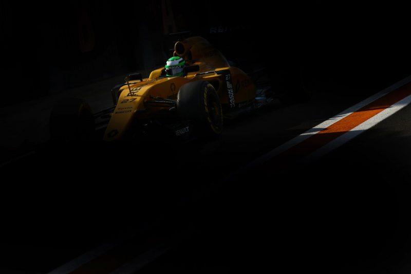 Hulkenberg and a shade of yellow