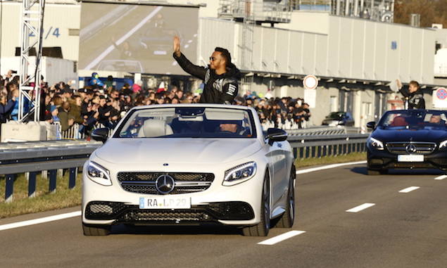 Mercedes posts record year in sales