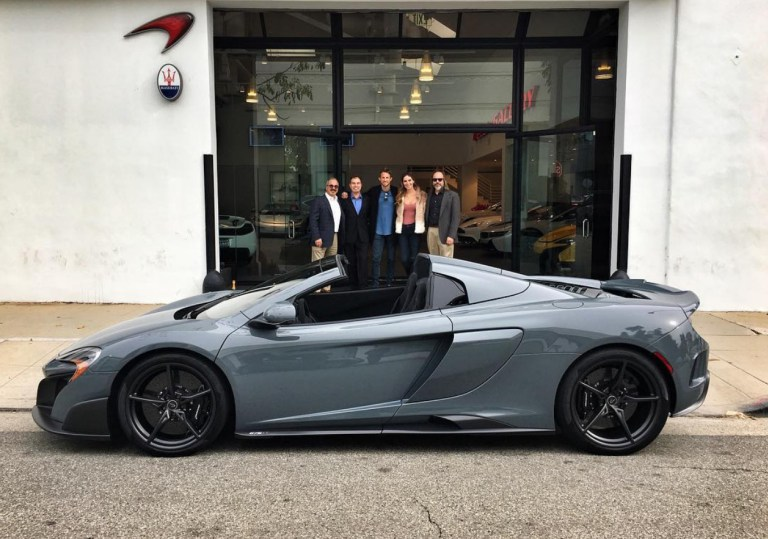 Crusin' with Jenson Button and his new McLaren 675LT Spider