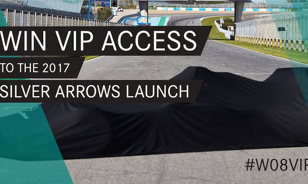 Mercedes launches fan competition for 2017 F1 car launch