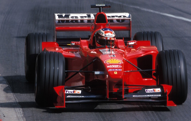 Top 10 F1 cars driven by Michael Schumacher