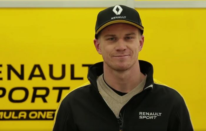 Hulkenberg delivers a 'yellow' New Year's message