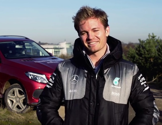Video: Nico Rosberg wishes you a Happy New Year