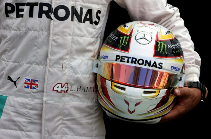 Fans offered opportunity to design Hamilton's 2017 helmet