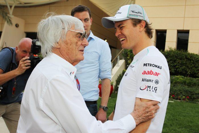 Ecclestone: 'Rosberg retirement a joyous event!'