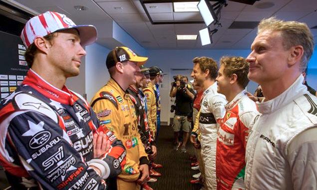 F1 drivers go head-to-head at RoC 2017