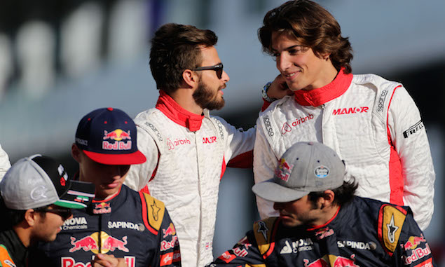 Merhi downplays Verstappen hype