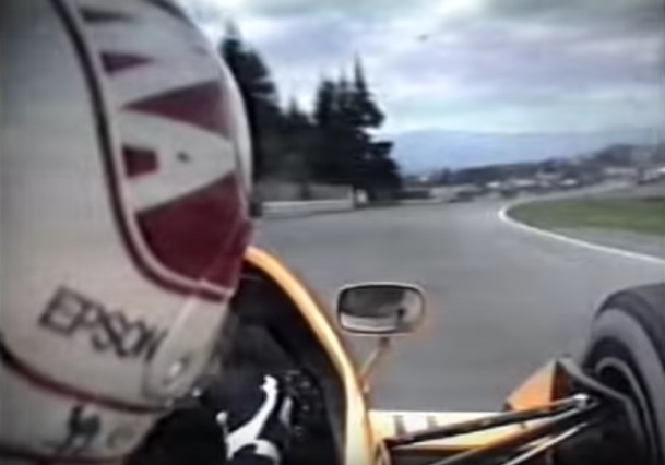 Video: Nakajima flying around the Österreichring!