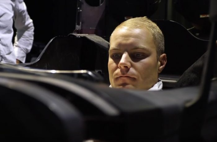 Video: Valtteri Bottas' first day at the office