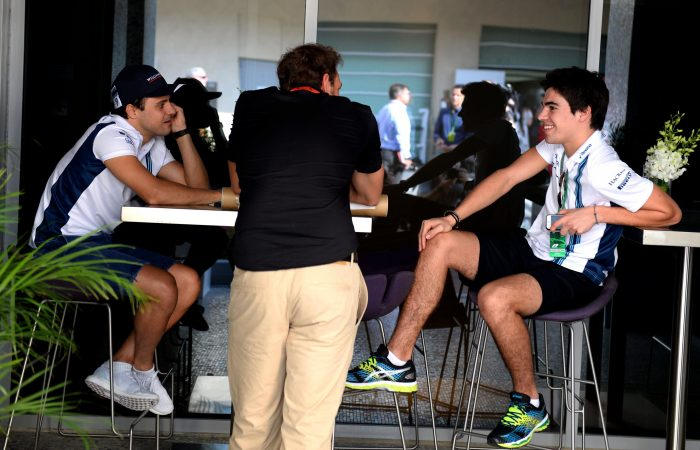 Rookie Stroll delighted with Massa return