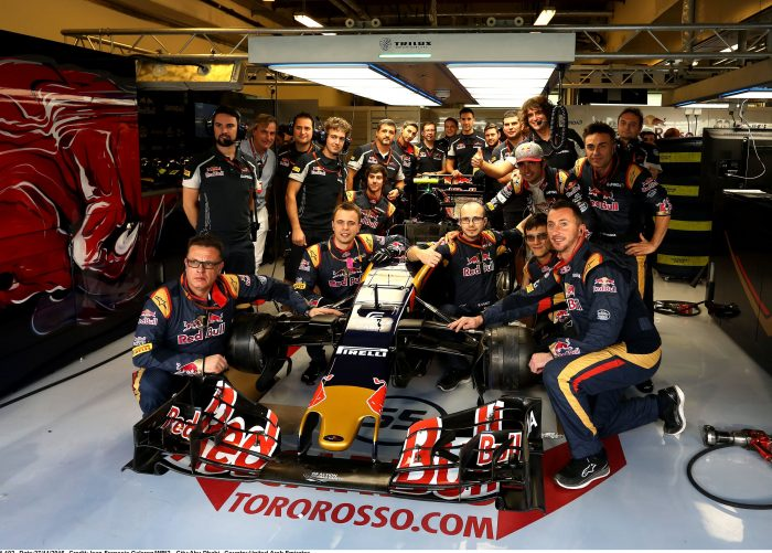 Toro Rosso shifts to 24/7 mode to complete 2017 car