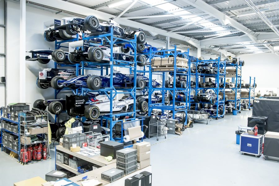 A rack full of Williams!