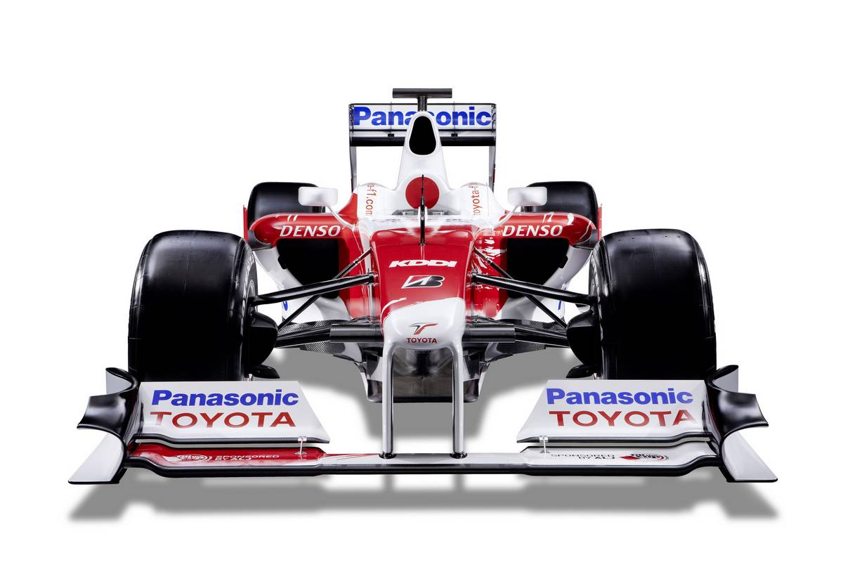 GALLERY: 8 years ago today, Toyota launched its final F1 car