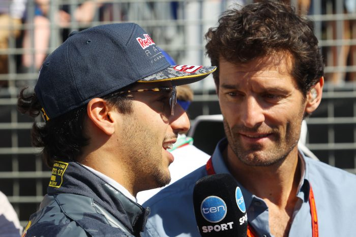 Rosberg retirement a big boost for Ricciardo's chances - Webber