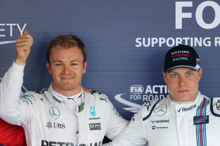 Rosberg gives his two cents on Bottas
