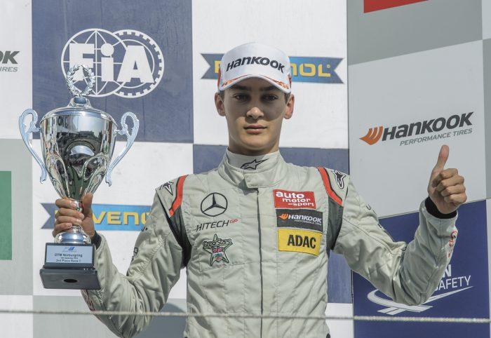 British hopeful George Russell joins Mercedes junior programme