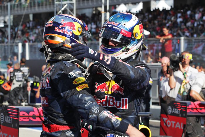 Relationship with Ricciardo could fall apart - Verstappen