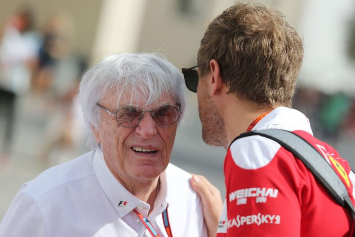 Ecclestone :  'Stop picking on Vettel!'