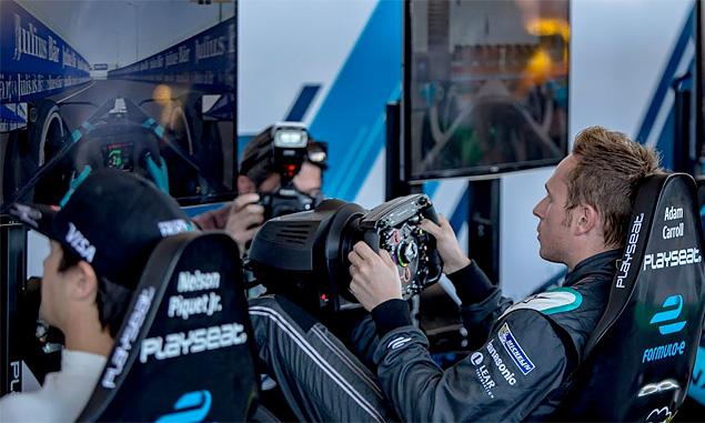 Formula E stars rev up for virtual action
