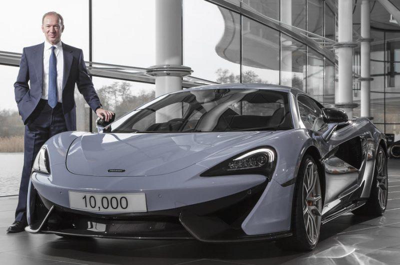 McLaren Automotive thrives on record sales