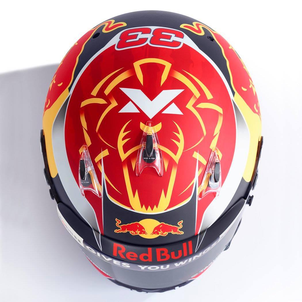 Verstappen Helmet Gallery