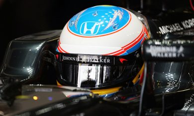 Alonso rings the Bell with new head protection