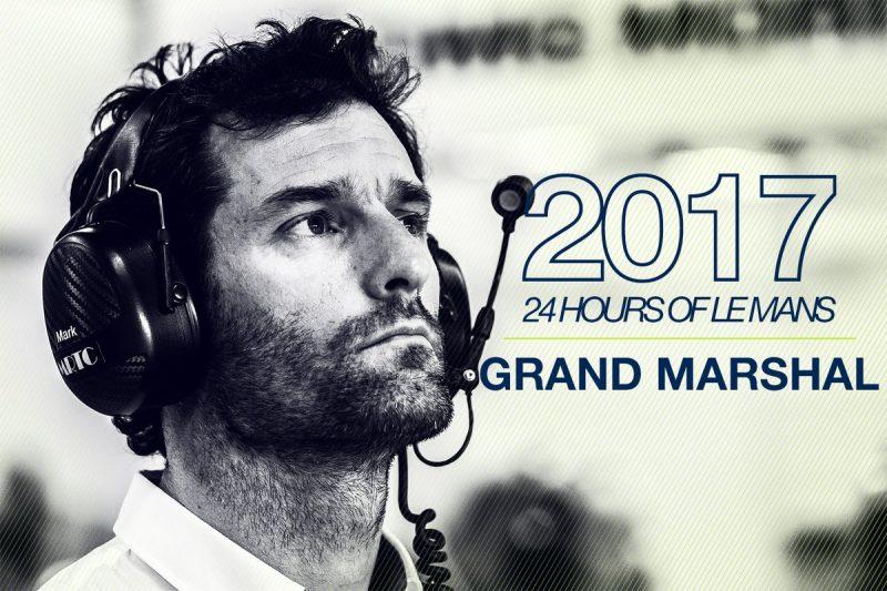 Video: Mark Webber named Grand Marshal for 2017 Le Mans