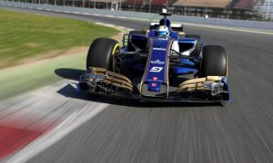 Video: Take a 360° lap around the Circuit de Catalunya with Marcus Ericsson
