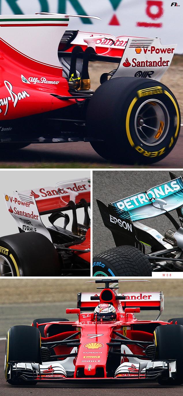 Tech F1i: A closer look at the Ferrari SF70H