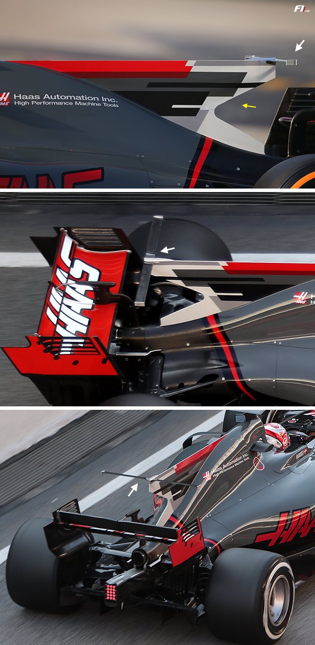 Tech F1i: A closer look at the Haas VF-17