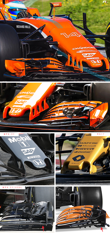 Tech F1i: A closer look at the McLaren MCL32
