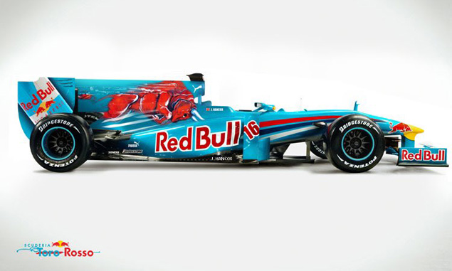 Is sky blue the limit for Toro Rosso's 2017 livery?