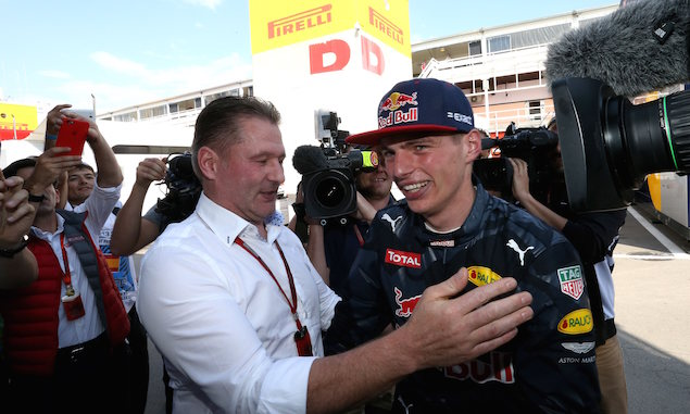 Too soon for Max to gun for F1 title - Verstappen Snr