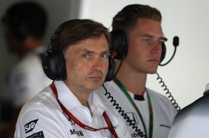 Jost Capito officially gone from McLaren