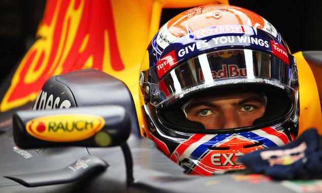 Verstappen 'impressed' by cornering speeds after sim run