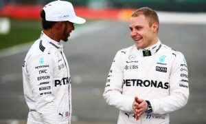 Bottas on cloud nine with Mercedes