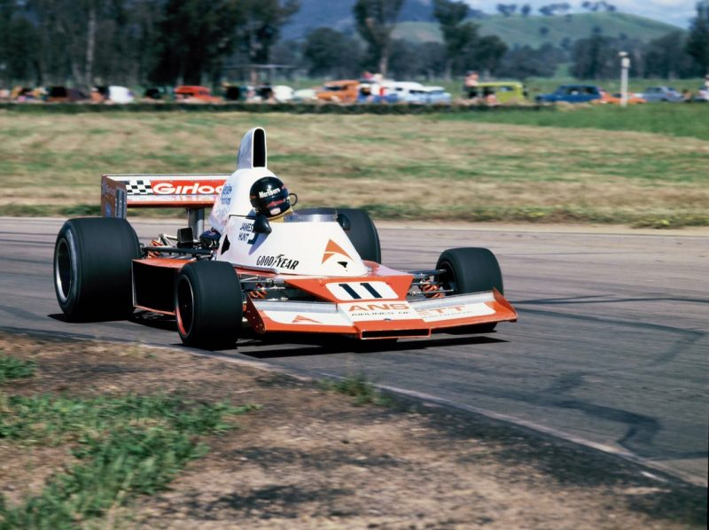 James Hunt, yes, but where, when and driving what?