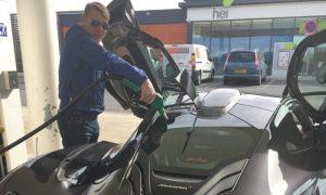 Hakkinen gets a new company car!