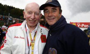 Family and friends bid a final farewell to John Surtees