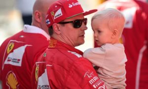 Kimi makes full use of the super soft... pampers